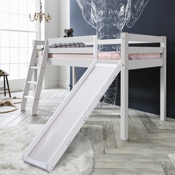 Noa and Nani Midsleeper Cabin Bed with Slide
