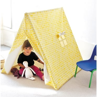 Playtent with Yellow Leaves Design