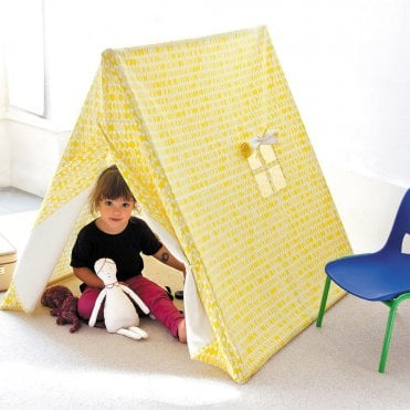Noa and Nani Playtent with Yellow Leaves Design