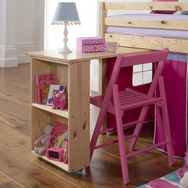 Noa and Nani Pull out Desk for Cabin Bed in Natural Pine