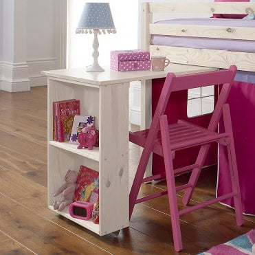 Noa and Nani Pull out Desk for Cabin Bed in Whitewash