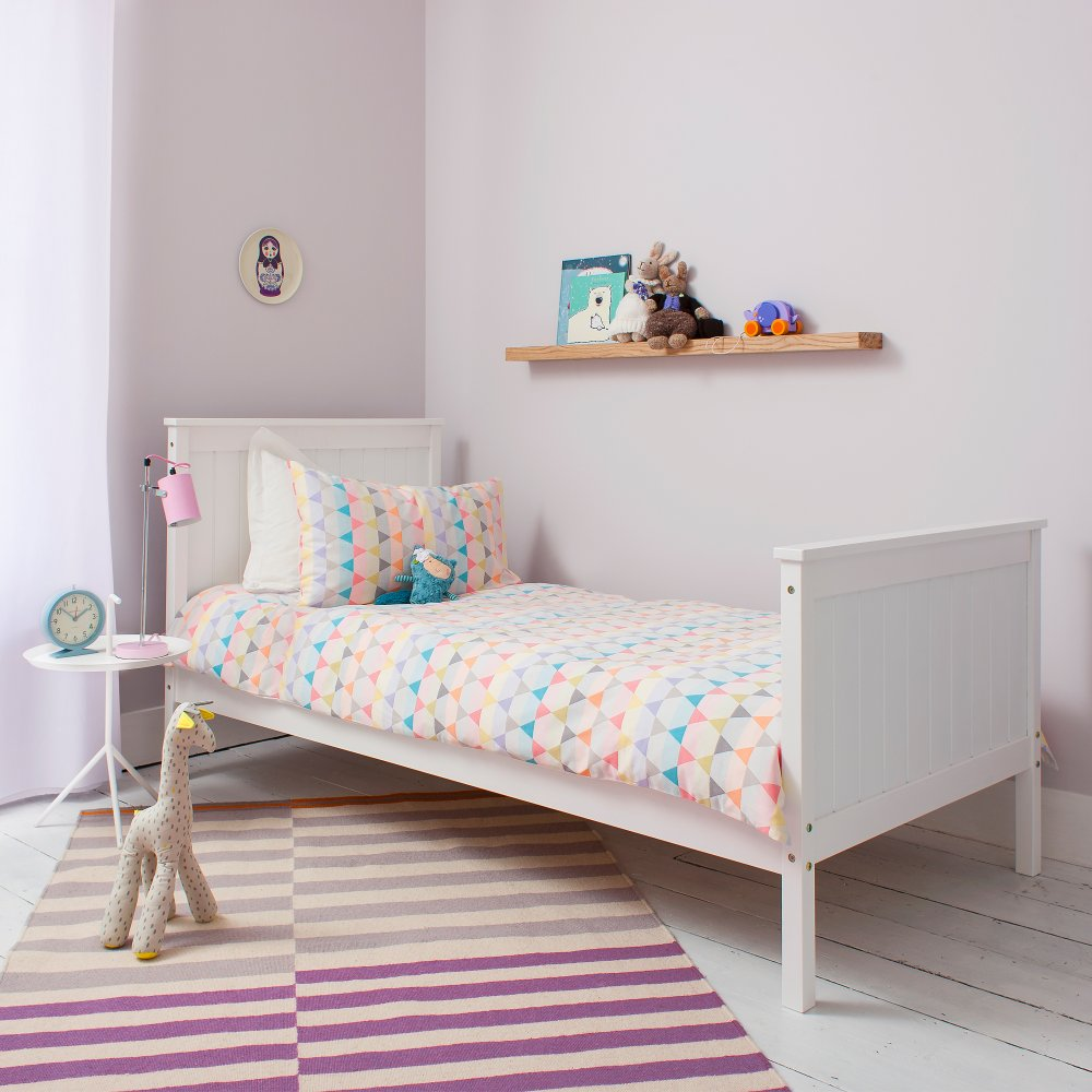 Portland single bed in white noa nani for Childrens beds for sale