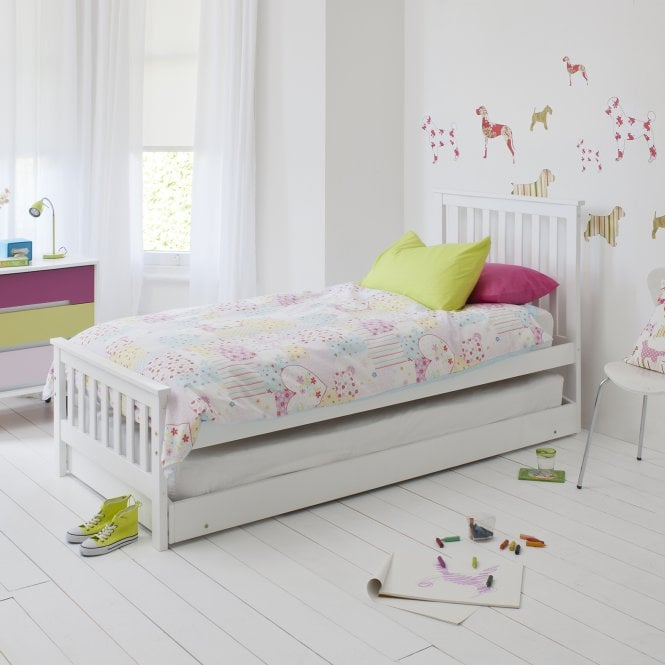 Single Bed With Pull Out Sleepover Bed Noa Amp Nani