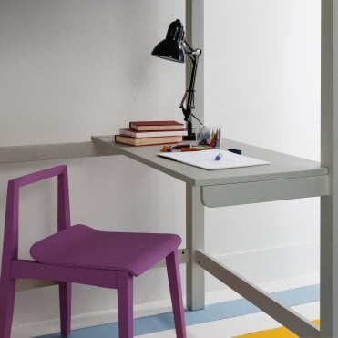 Skole Desk for Odin High Sleeper Bed in Silk Grey