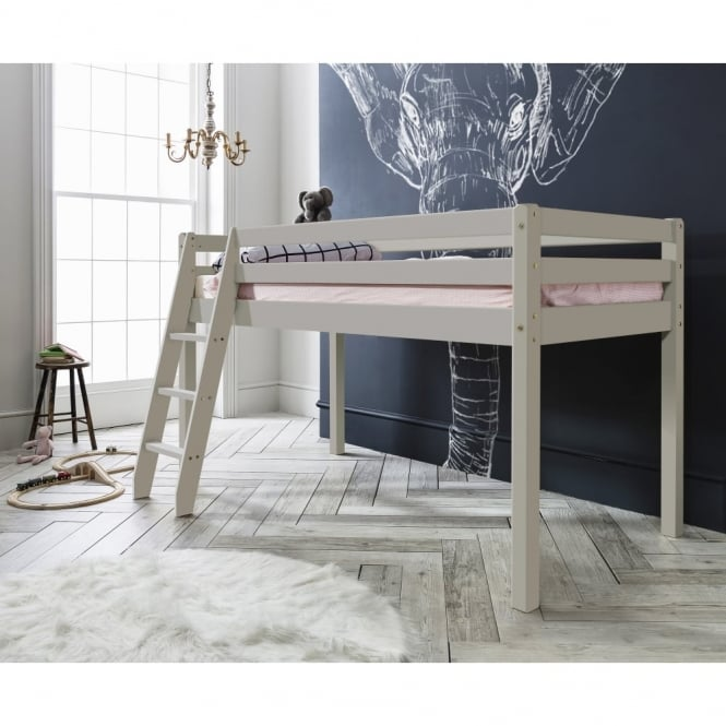 Noa and Nani Thor Midsleeper Cabin Bed in Silk Grey