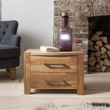 Noa and Nani Vermont Side Table in Oak