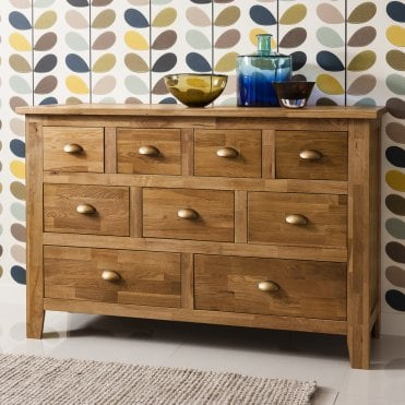 Noa and Nani Vermont Solid Oak Sideboard in Natural Oak