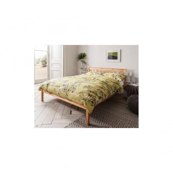 Noa and Nani Winchester Double Bed in Natural
