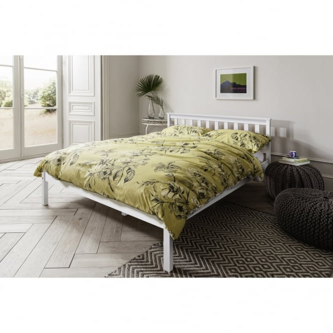 Noa and Nani Winchester Double Bed in White