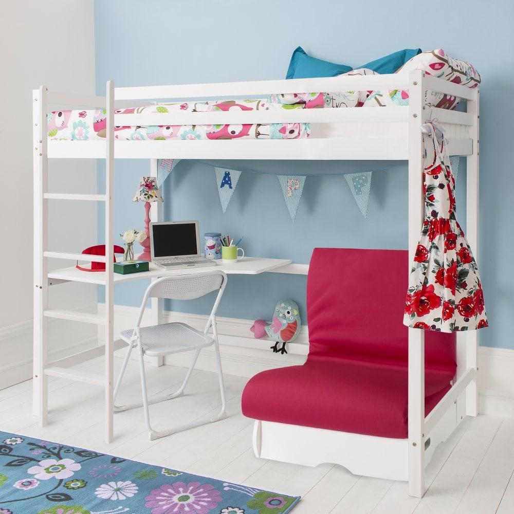 Sensational Cabin Bed With Futon Loris Decoration Camellatalisay Diy Chair Ideas Camellatalisaycom