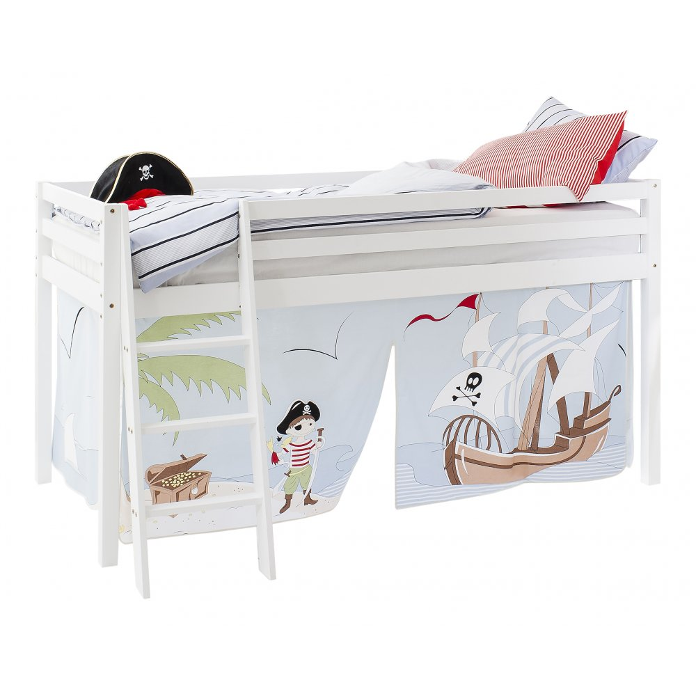 Pirate Pete Mid Sleeper Cabin Bed Tent  sc 1 st  Noa u0026 Nani & Tent for Midsleeper Cabin Bed