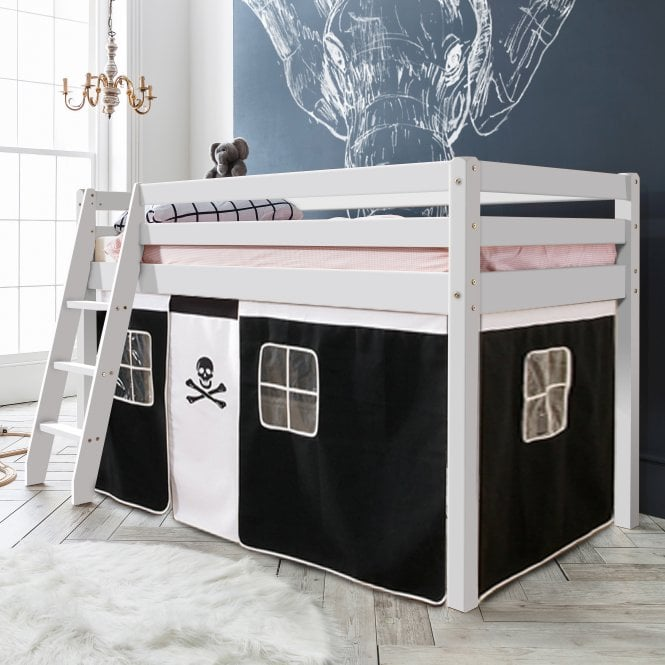 Pirates Tent for Midsleeper Cabin Bed in Pirate Design