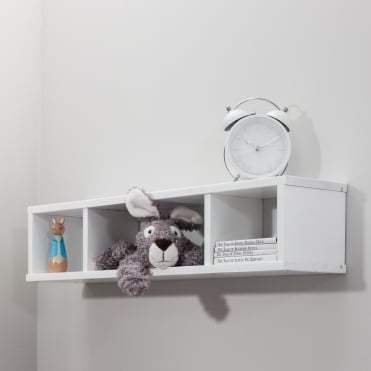 Shelving Unit Wall mounted Cube in White