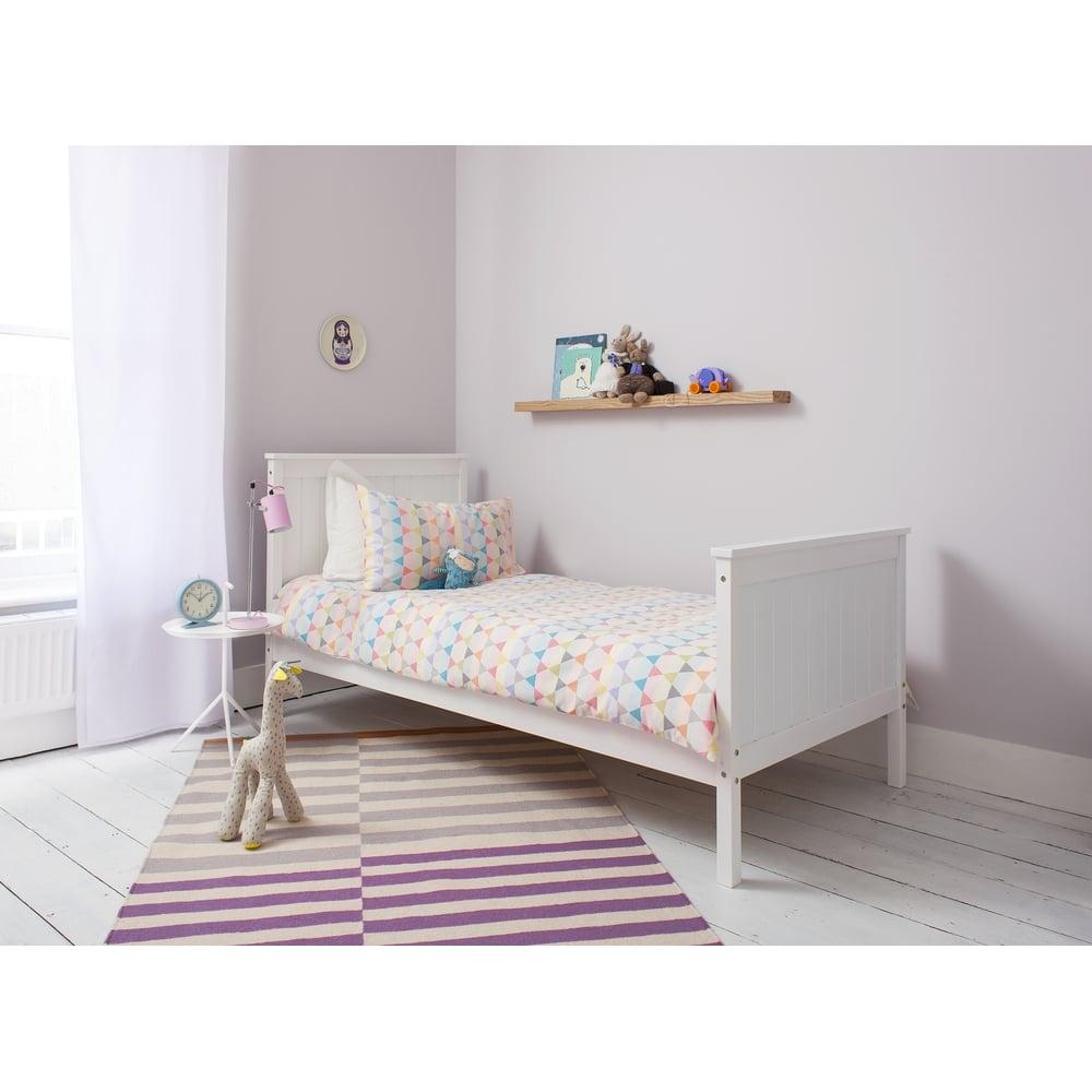 Portland Single Bed in White | Noa & Nani