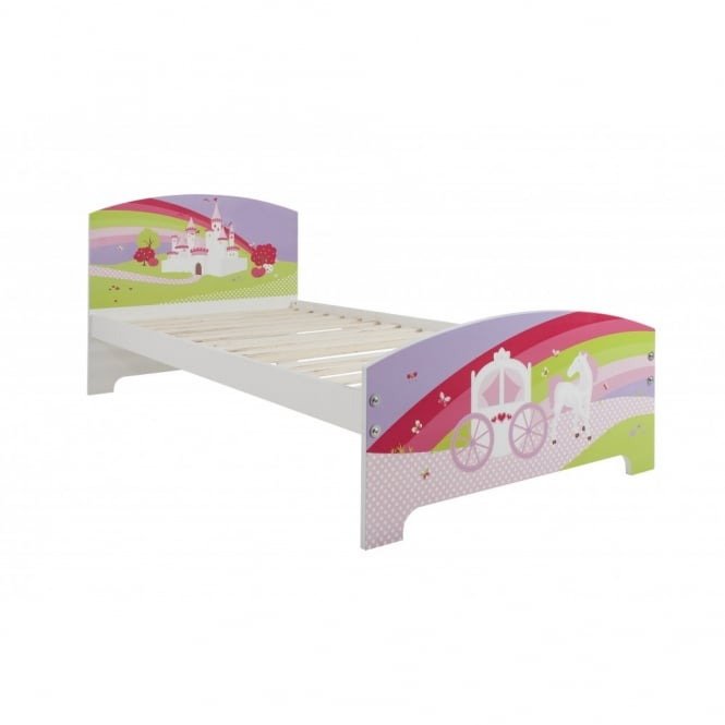 Princess Fairytale Single Bed with Princess Fairytale Design