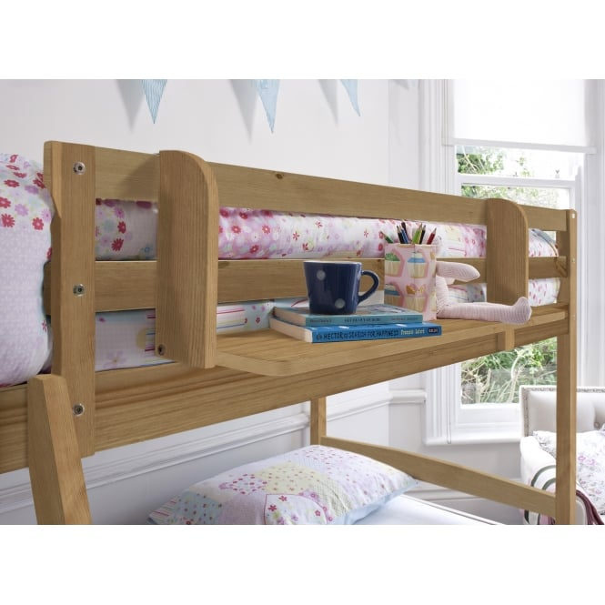 Single Shelf for Cabin or Bunk Beds in Natural Pine
