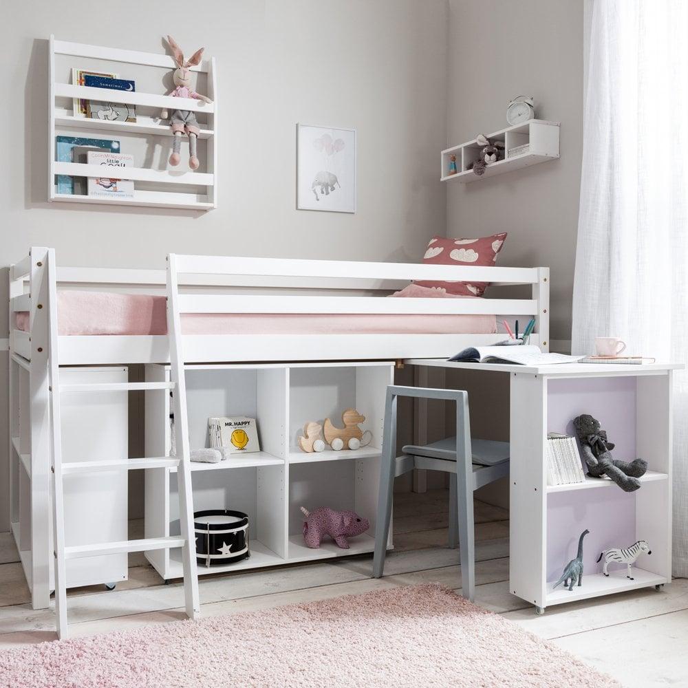 Sleep Station Cabin Bed with Storage & Desk | Noa and Nani