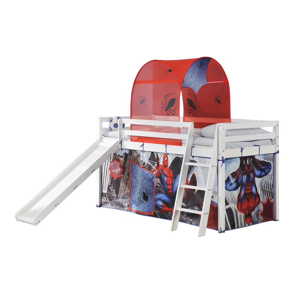 Cabin Bed with Slide and Tent  sc 1 st  Noa u0026 Nani & Spiderman Cabin Bed with Slide and Tent | Noa u0026 Nani
