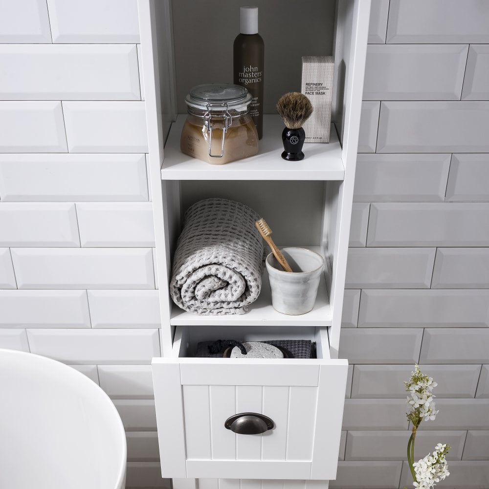 Stow Tallboy Bathroom Cabinet Hallway Storage Unit Noa Nani