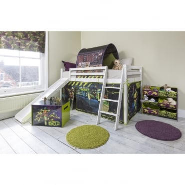 Tent in TMNT Design for Turtles Cabin Bed Midsleeper