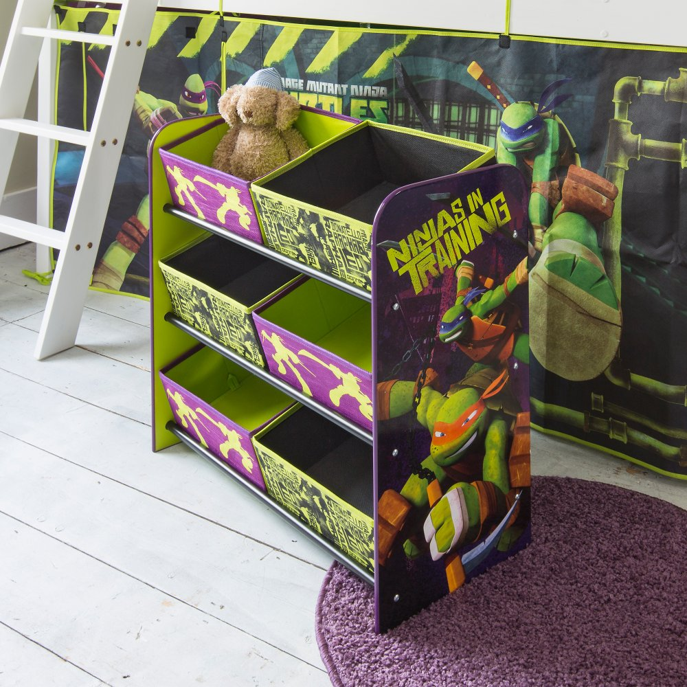 Ninja Turtle Bedroom Furniture Teenage Mutant Ninja Turtles Storage Bin Noa Nani