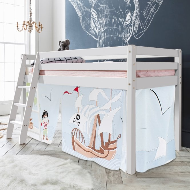 Pirate Pete Tent for Midsleeper Cabin Bed in Pirate Pete Design