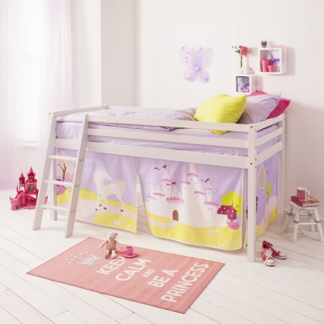Princess Fairytale Tent for Midsleeper Cabin Bed in Princess Fairytale Design