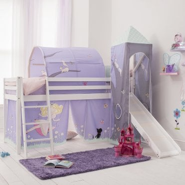 Tent, Tower, Tunnel & Bed Tidy for Midsleeper Cabin Bed in Annabel Design