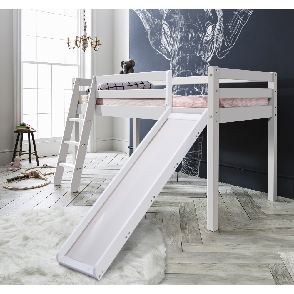 Thor Midsleeper Cabin Bed With Slide In White Noa Amp Nani