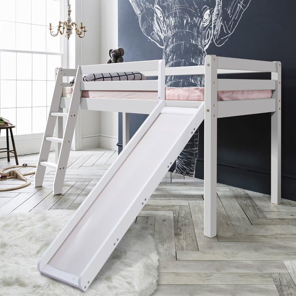 Thor Midsleeper Cabin Bed With Slide In White Noa Amp Nani