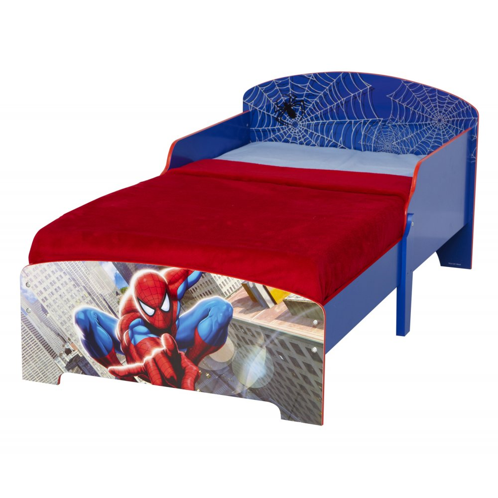 Spiderman Toddler Bed With Printed Boards Noa Amp Nani
