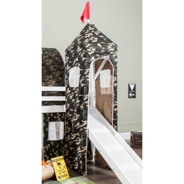 Top Tower for Cabin Bed in Army Design