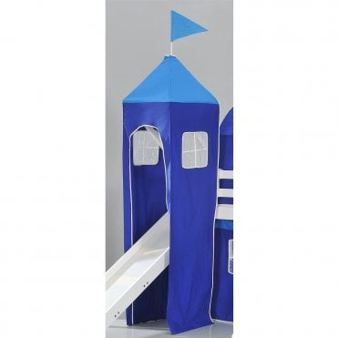 Top Tower for Cabin Bed in Brilliant Blue