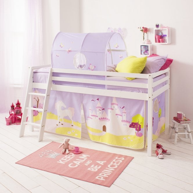 Princess Fairytale Top Tunnel for Cabin Bed in Princess Fairytale design